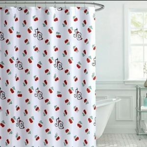 NWT Authentic Juicy Couture Shower Curtain